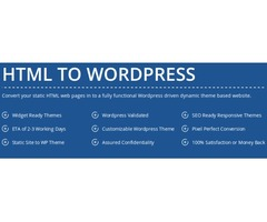 Hire Conversion Services for Html to WordPress Theme- HireWPGeeks