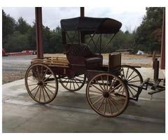 Amish Built Market Buggy