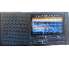 Shortwave radio receiver 10 band