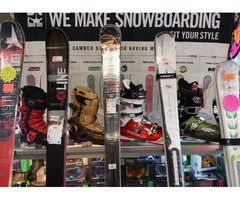 New & used Ski and Snowboard Equipment