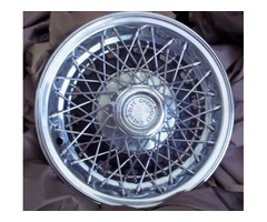 Chevrolet wire spoke wheel cover