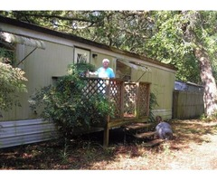 Mobile Home on 3/4 Acre Private Property