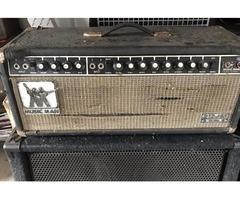 Music man 100 watt guitar head