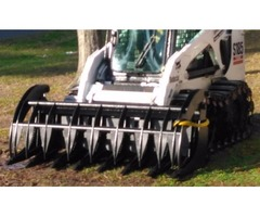 Skid steer and farm tractors and mini attachments