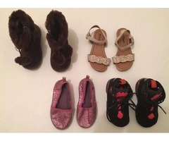 Toddler Girl Size 6 Variety Shoes | free-classifieds-usa.com