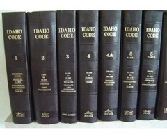 IDAHO CODE, Michie, 2000. 27 Vol & MORE. REDUCED to Only $150 for all 32 books