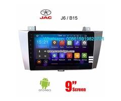 JAC J6 B15 audio radio Car android wifi GPS navigation camera