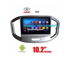 JAC M4 Car stereo radio auto GPS android wifi Multimedia camera