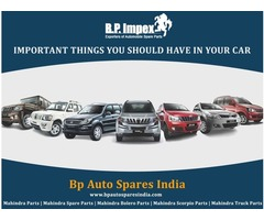 Mahindra Parts - Spare Parts Exporters in India