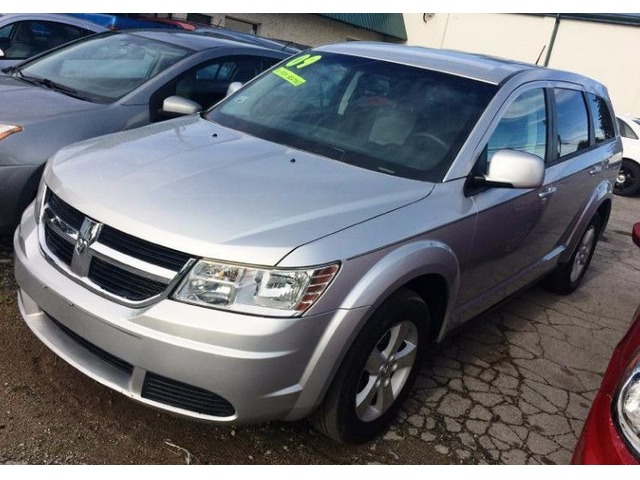 silver 2009 dodge journey with third row seating suvs fort wayne indiana announcement 73516. Black Bedroom Furniture Sets. Home Design Ideas