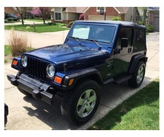 2001 Jeep Wrangler 5 speed manual trans rebuilt, new clutch