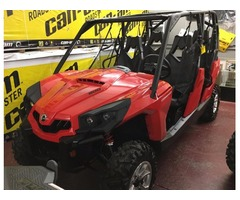 NEW 2017 Can-Am Commander MAX DPS 800 in Red - $13995