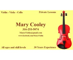 Lessons Available Violin - Viola - Cello All ages/skills (Wichita Area)
