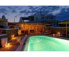 Magnificent Vacation Villa with Pool in Mykonos Greece