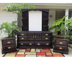 Large Dresser and large mirror