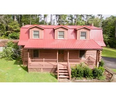 Log House, 1.26 acres, 3 bdr, 2 bath
