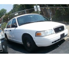 2010 ford crown victoria x police car