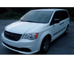 2013 DODGE grand caravan c/v commercial