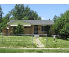 Single Family Home Only $7,900