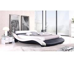 In Black/White - european Modern style bed