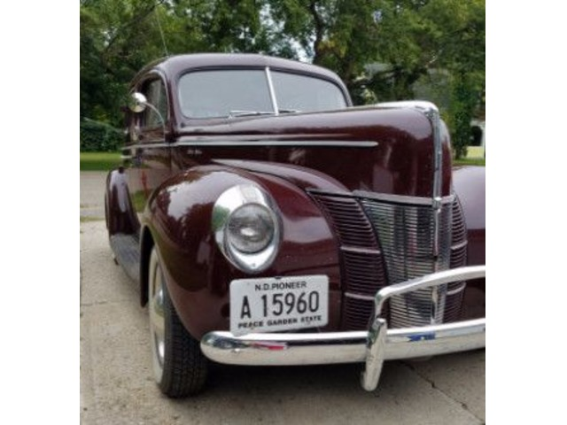 1940 Ford Deluxe Four Door Coupe For Sale Classic Cars Portland