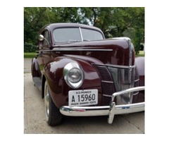 1940 Ford Deluxe Four Door Coupe For Sale
