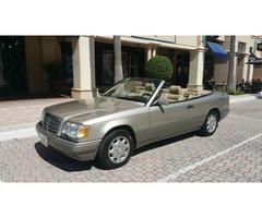 1994 Mercedes-Benz E-Class E320 Convertible Low Miles 1 Owner Florida.