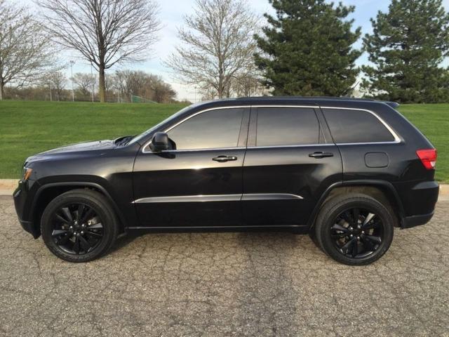 Black Grand Cherokee >> 2013 Jeep Grand Cherokee Black Hawk Suvs Sodus