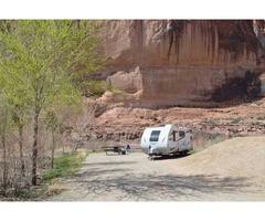 Camping trailer rental Utah