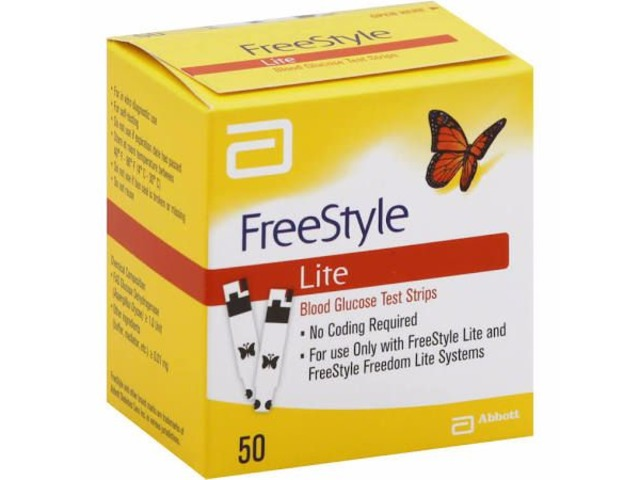 free style glucose test strips