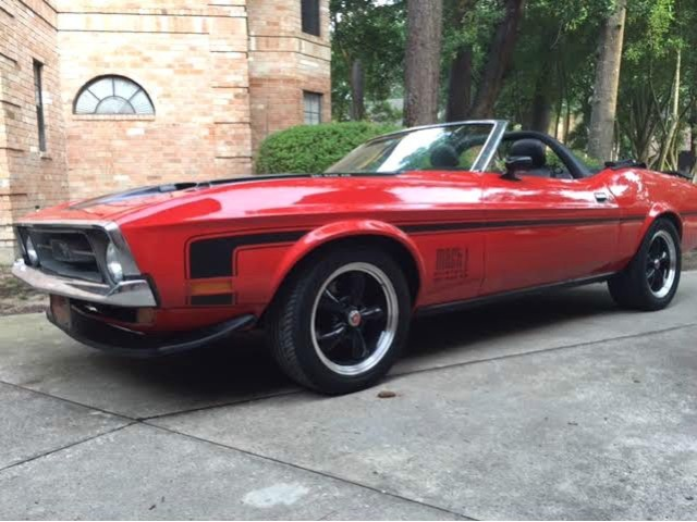 1972 Ford Mustang Sports Cars Pasadena Texas Announcement 74601