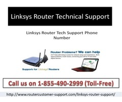 """Calling at 1-855-490-2999 Linksys Router Technical Support Number """