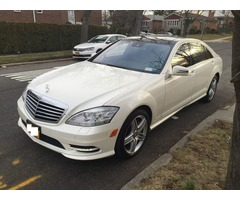 2013 Mercedes-Benz S-Class S550 AMG Sport Package