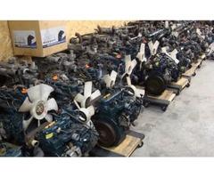 Kubota / Yanmar / Mitsubishi Used Diesel Engines