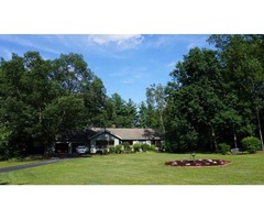One Level Living in Hollis! Beautiful Three Bedroom Home on Two Lovely Acres