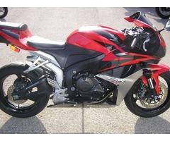 Motorcycle 2012 Honda CBR 600 RR !!!
