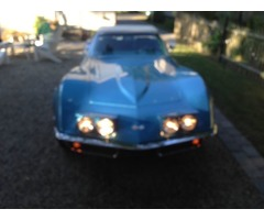 1969 Chevrolet Corvette Lemans BlueBlueWhite