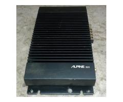 ALPINE 3523 2 CHANNEL BRIDGEABLE AMPLIFIER