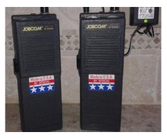 JOBCOM-JBC100 2 WAY RADIOS-SET OF 2