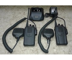KENWOOD TK3160 PORTABLE 2 WAY RADIOS-SET OF 2