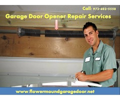 Find Garage Door Opener Repair Services in Flower Mound