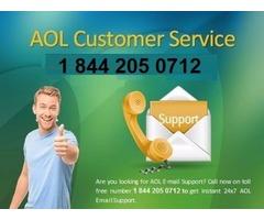 AOL Customer Phone Number 1844 205 0712