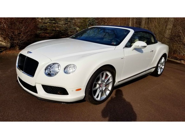 2017 Bentley Continental Gt Gtc V8 Convertible 2 Door