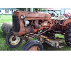 D10 Allis Chalmers Tractor with Belly Mower For Sale