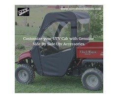 Customize your UTV Cab with Genuine Side By Side Utv Accessories