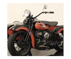 Harley-Davidson WL & Sidecar
