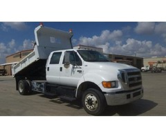 2005 Ford F-650 Dump Truck For Sale