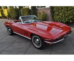 1966 Chevrolet Corvette Whiteblack Interior