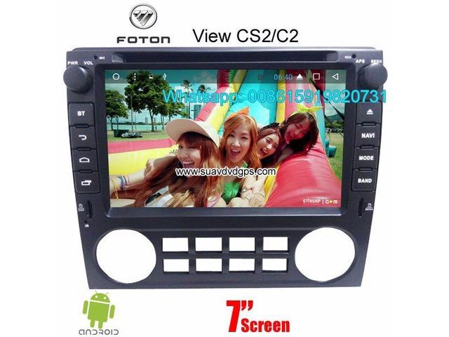 Foton View CS2 C2 car audio radio android wifi GPS camera | free-classifieds-usa.com