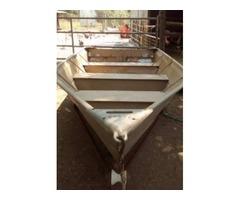 12' aluminium fishing boat/trailer